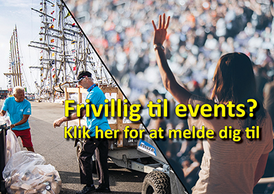 Frivillig til events?